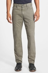 Vince 'Harrison' Five Pocket Relaxed Fit Cotton Pants Beige