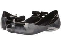 Vivienne Westwood Anglomania Melissa Queen Grey Women's Flat Shoes Gray