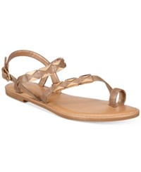 Bar Iii Vadya Hardware Sandals Only At Macy's Women's Shoes Gold
