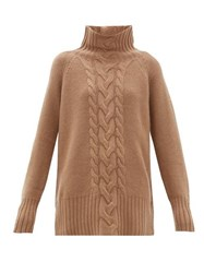 Max Mara S Ronco Sweater Camel