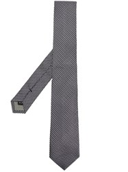 Dell'oglio Dot Print Tie Black