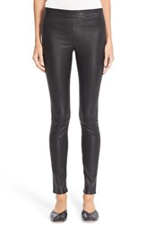 Helmut Lang Women's Stretch Lambskin Leather Leggings