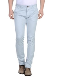 One Seven Two Casual Pants Sky Blue