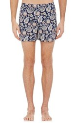 Sleepy Jones Men's Paisley Jasper Boxers Navy No Color Navy No Color