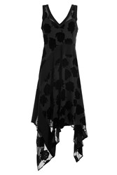 Dkny Dress With Velvet Black