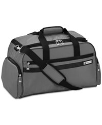 London Fog Southbury 22 Cargo Duffel Bag Created For Macy's Graphite
