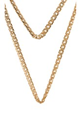 Frasier Sterling Belle Of The Ball Prelayer Necklace Metallic Gold