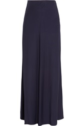 Givenchy Midnight Blue Woven Maxi Skirt