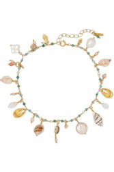 Chan Luu Gold Plated Turquoise