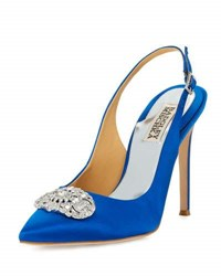 Badgley Mischka Sansa Crystal Slingback Pump Royal