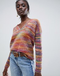 Intropia Rainbow Spacedye Jumper Multi