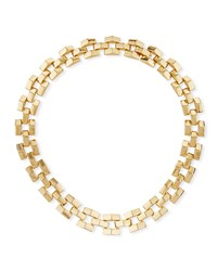 Lulu Frost Power Link Necklace Gold