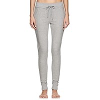 Skin Cotton Jersey Crop Jogger Pants Gray
