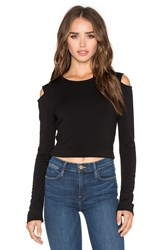 Beautiful People Open Shoulder Pullover Black