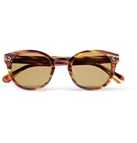Saturdays Surf Nyc Mitsu Round Frame Tortoiseshell Acetate Sunglasses Tortoiseshell
