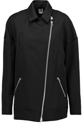 Opening Ceremony Claire Sateen Coat Black