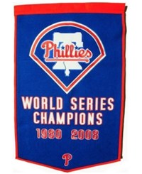 Winning Streak Philadelphia Phillies Dynasty Banner Team Color
