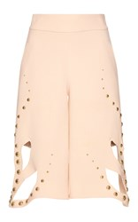 Francesco Scognamiglio Studded Butterfly Chaps Pink