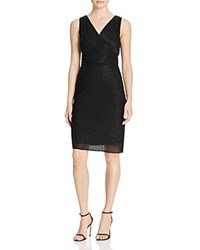 Laundry By Shelli Segal Bead Embellished Dress Black
