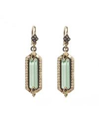 Armenta Green Turquoise Sapphire And Diamond Drop Earrings