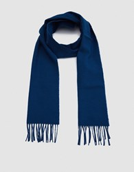 Norse Projects X Johnstons Lambswool Scarf In Sodalite