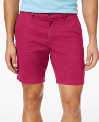 Tommy Hilfiger Men's Denton Straight Fit Stretch Shorts Cerise