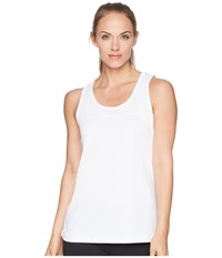 2Xu Xvent Tank Top White White Sleeveless