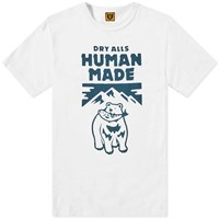 Human Made Polar Bear Tee White