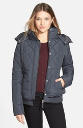 Junior Women's Maralyn And Me Quilted Puffer Coat Online Only