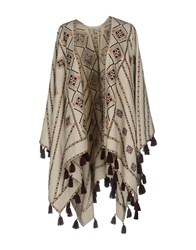 Talitha Capes And Ponchos Beige