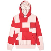 Ambush Panel Logo Hoody Red