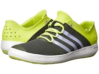 Adidas Outdoor Climacool Boat Pure Base Green Chalk White Semi Solar Yellow Men's Shoes Olive