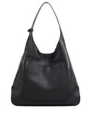 Prada Deerskin Hobo Bag Red Tan Black