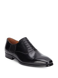 Steve Madden Manifest Leather Slip On Oxfords Black