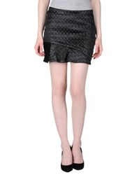 By Zoe Mini Skirts Black