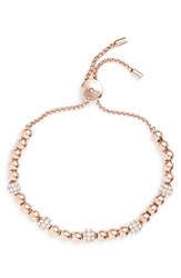Michael Kors 'S Beaded Bracelet Rose Gold