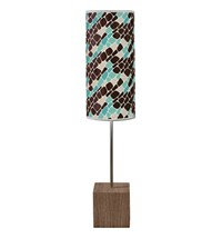 Jefdesigns Cell Cuboid Table Lamp Blue
