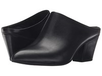 Seychelles Got The Answer Black Leather Women's Clog Shoes