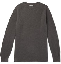 Margaret Howell Merino Wool And Cashmere Blend Sweater Gray