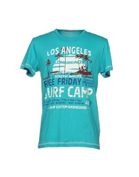 Ltb T Shirts Turquoise