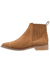 Gardenia Alissa Ankle Boots Brandy Gold Brown