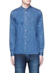 Denham Jeans 'Store' Cotton Denim Shirt Blue