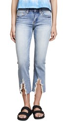 Blank Denim The Varick Cropped Flare Jeans Constant Convo