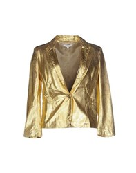 Faith Connexion Suits And Jackets Blazers Women Gold