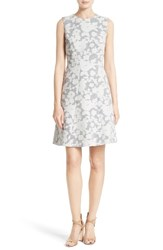 Boss Women's Hellery Floral Fit And Flare Dress