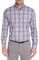Peter Millar Men's Farmington Regular Fit Plaid Sport Shirt