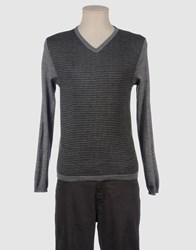 Lo Not Equal Knitwear V Necks Men Grey