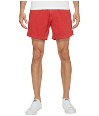 Vintage 1946 Snappers Washed Elastic Waistband Shorts Red Men's Shorts