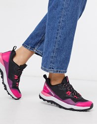 The North Face Activist Futurelight Trainers In Black Pink