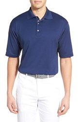 Men's Bobby Jones Solid Pima Cotton Jersey Polo Summer Navy